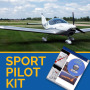 sport pilot ground school training kit