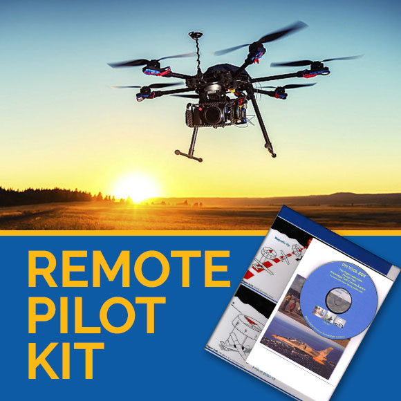 drone suav remote pilot training kit